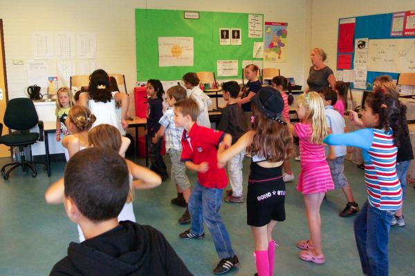 Workshop Kidsdance  Roeselare.